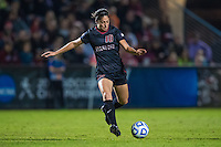 STANFORD, CA - November 21, 2014: Haley Rosen during the Stanford vs Arkansas women's second round NCAA soccer match in Stanford, California.  The Cardinal defeated the Razorbacks 1-0.