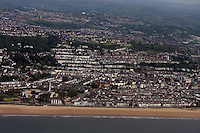 Aerial view of Swansea