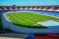 BARRANQUILLA - COLOMBIA: Aspectos del Estadio Metropolitano Roberto Meléndez es un escenario para la práctica del fútbol y el atletismo de Barranquilla, Colombia. Tienen una capacidad para 49.612 espectadores y fue inaugurado el 11 de mayo de 1986. / Metropolitano Roberto Melendez stadium, commonly known as Estadio Metropolitano, or colloquially, El Metro, is a multi-use all-seater football stadium in Barranquilla, Colombia. It is the home stadium of local football team Atlético Junior. It was built with a capacity of 49,612 for the Colombian World Cup bid in 1986. Photo: VizzorImage / Alfonso Cervantes / Cont