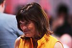 April 29 2015: Kentucky Derby post postion draw.  Trainer Barbara Banke. Sue Kawczynski/ESW/CSM