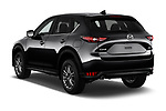 Car pictures of rear three quarter view of a 2018 Mazda CX-5 Sport 5 Door SUV angular rear