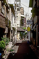 Tokyo: Pedestrian St., UENO district. Photo '82.