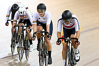 Jessie Hodges competes in the Women Elite Points race 20km during the 2020 Vantage Elite and U19 Track Cycling National Championships at the Avantidrome in Cambridge, New Zealand on Saturday, 25 January 2020. ( Mandatory Photo Credit: Dianne Manson )