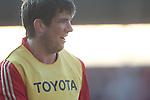 Donncha O'Callaghan.RaboDirect Pro 12.Scarlets v Munster..Parc Y Scarlets.21.04.12.©Steve Pope