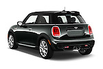 Car pictures of rear three quarter view of2015 MINI Mini John Cooper Works 3 Door Hatchback Angular Rear