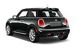 Car pictures of rear three quarter view of2015 MINI Mini John Cooper Works 3 Door Hatchback Angular Rear