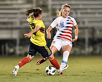 Lakewood Ranch, FL - Wednesday, October 10, 2018:   Astrid Wheeler during a U-17 USWNT match against Colombia.  The U-17 USWNT defeated Colombia 4-1.