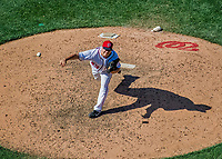 9 July 2017: Washington Nationals pitcher Matt Albers on the mound against the Atlanta Braves at Nationals Park in Washington, DC. The Nationals defeated the Atlanta Braves to split their 4-game series going into the All-Star break. Mandatory Credit: Ed Wolfstein Photo *** RAW (NEF) Image File Available ***