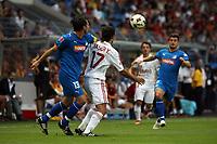 Zsolt Loew (Hoffenheim) gegen Yaser Yildiz (Galatasaray)<br /> TSG 1899 Hoffenheim vs. Galatasaray Istanbul, Carl-Benz Stadion Mannheim<br /> *** Local Caption *** Foto ist honorarpflichtig! zzgl. gesetzl. MwSt. Auf Anfrage in hoeherer Qualitaet/Aufloesung. Belegexemplar an: Marc Schueler, Am Ziegelfalltor 4, 64625 Bensheim, Tel. +49 (0) 6251 86 96 134, www.gameday-mediaservices.de. Email: marc.schueler@gameday-mediaservices.de, Bankverbindung: Volksbank Bergstrasse, Kto.: 151297, BLZ: 50960101