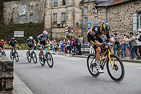 Belgian National Champion Wout van Aert (BEL/Jumbo-Visma)<br /> <br /> Stage 4 from Redon to Fougéres (150.4km)<br /> 108th Tour de France 2021 (2.UWT)<br /> <br /> ©kramon