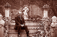Nella sua lunghissima carriera di accademico e critico letterario; ha pubblicato oltre venti opere; che spaziano da Heidegger all'eredità di Antigone e della tragedia greca nel canone occidentale. Milano; 20 aprile 2000. © Leonardo Cendamo/Gettyimages