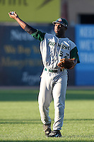 Fort Wayne TinCaps outfielder Everett Williams (32) during a game vs. the West Michigan Whitecaps at Fifth Third Field in Comstock Park, Michigan August 18, 2010.   Fort Wayne defeated West Michigan 5-1.  Photo By Mike Janes/Four Seam Images