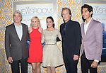 Actors Sam Waterston, Alison Pill, Olivia Munn, Jeff Daniels, and Dev Patel<br />  at The  Los Angeles Season 3 Premiere of HBO's series THE NEWSROOM held at The DGA in West Hollywood, California on November 04,2014                                                                               © 2014 Hollywood Press Agency