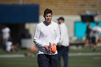 BERKELEY, CA - April 14, 2017: Cal Bears Football Spring Practice.