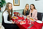 Louise O'Neill, Sadie Brosnan and Heather Walsh enjoying the evening in Cassidys on Saturday.
