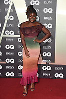 LONDON, UK. September 03, 2019: Clara Amfo arriving for the GQ Men of the Year Awards 2019 in association with Hugo Boss at the Tate Modern, London.<br /> Picture: Steve Vas/Featureflash
