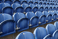 Empty seats around the ground ahead of Glamorgan vs Essex Eagles, Royal London One-Day Cup Cricket at the Sophia Gardens Cardiff on 17th April 2019