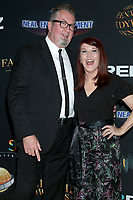 LOS ANGELES - MAR 24:  Chris Haston, Kate Flannery at the 14th Family Film Awards at the Universal Hilton Hotel on March 24, 2021 in Universal City, CA