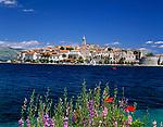 Kroatien, Dalmatien, Korcula: mittelalterliche Stadt auf gleichnamiger Insel - Geburtsort Marco Polos | Croatia, Dalmatia, Korcula: medieval town on identical island - Marco Polo's place of birth