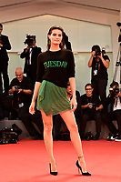 Brazilian actress and top model Isabeli Fontana poses on the red carpet for the screening of the movie 'The Shape Of Water' at the 74th Venice Film Festival, Venice Lido, August 31, 2017. <br /> UPDATE IMAGES PRESS/Marilla Sicilia<br /> <br /> *** ONLY FRANCE AND GERMANY SALES ***