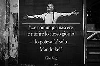 05.11.2020 - Ciao Gigi - Farewell To Gigi Proietti In Rome