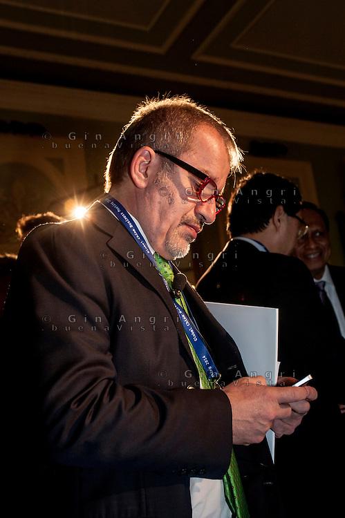 Roberto Maroni, governatore della regione Lombardia, 2014