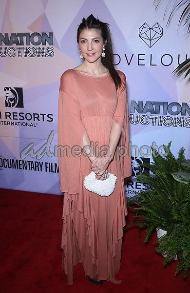 08 March 2018 - Las Vegas, NV -   Aja Volkman. Special VIP screening of HBO Documentary film BELIEVER at KA Theatre at MGM Grand. Photo Credit: MJT/AdMedia