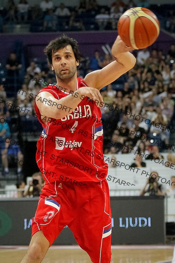 Kosarka Srbija - Francuska prijateljska<br /> Milos Teodosic<br /> 25.6.1016. JUN 25. 2016. (credit image & photo: Marko Djokovic / STARSPORT)