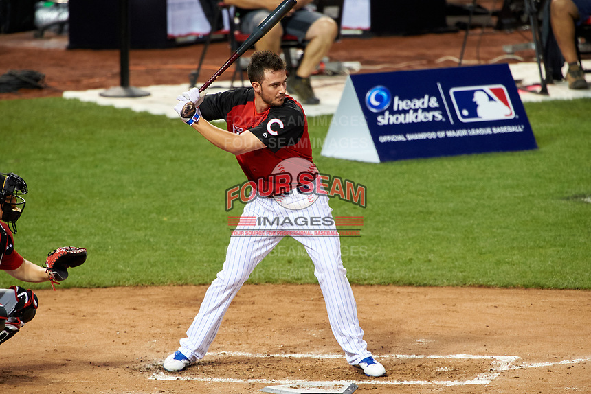 Chicago Cubs Kris Bryant during the MLB Home Run Derby on July 13, 2015 at Great American Ball Park in Cincinnati, Ohio.  (Mike Janes/Four Seam Images)