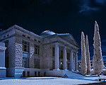 Mohave County Court House, Arizona (Infrared)