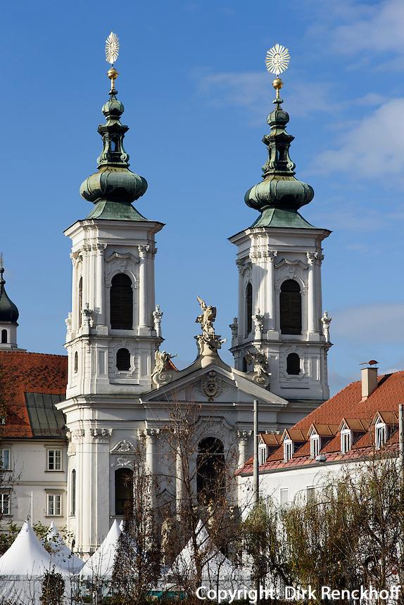 Minoritenkirche in Graz, Steiermark, Österreich<br /> Church of Minorites, Graz, Styria, Austria, UNESCO-Weltkulturerbe