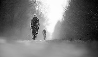 Paris-Roubaix 2013 RECON at Bois de Wallers-Arenberg..recon