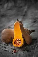 Gastronomie Générale/Diététique: Courge Butternut /General Gastronomy / Dietetics: Butternut Squash