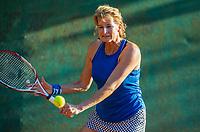 Hilversum, The Netherlands,  August 23, 2019,  Tulip Tennis Center, NSK, Esther Hofstede (NED)<br /> Photo: Tennisimages/Henk Koster