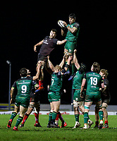 27th December 2020 | Connacht  vs Ulster <br /> <br /> Jarrad Butler during the Guinness PRO14 match between Connacht and Ulster at The Sportsground in Galway. Photo by John Dickson/Dicksondigital