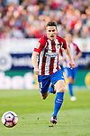 Kevin Gameiro of Atletico de Madrid in action during their La Liga match between Atletico de Madrid and Granada CF at the Vicente Calderon Stadium on 15 October 2016 in Madrid, Spain. Photo by Diego Gonzalez Souto / Power Sport Images