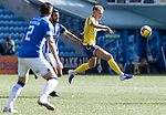 Kilmarnock v St Johnstone……15.08.20   Rugby Park  SPFL<br />Ali McCann and Gary Dicker<br />Picture by Graeme Hart.<br />Copyright Perthshire Picture Agency<br />Tel: 01738 623350  Mobile: 07990 594431