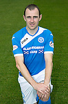 St Johnstone FC photocall Season 2016-17<br />Dave Mackay<br />Picture by Graeme Hart.<br />Copyright Perthshire Picture Agency<br />Tel: 01738 623350  Mobile: 07990 594431