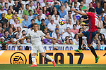 Lucas Vazquez of Real Madrid in action during the La Liga match between Real Madrid and Osasuna at the Santiago Bernabeu Stadium on 10 September 2016 in Madrid, Spain. Photo by Diego Gonzalez Souto / Power Sport Images