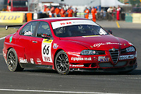 Round 5 of the 2006 British Touring Car Championship. #66 Mark Smith (GBR). In-Front Motorsport. Alfa Romeo 156.