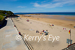 Very quiet on Ballybunion Beach on Sunday