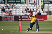 Will Buttleman in batting action for Essex during Essex Eagles vs Sussex Sharks, Vitality Blast T20 Cricket at The Cloudfm County Ground on 15th June 2021