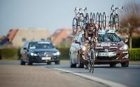 Steve Chainel (FRA)<br /> <br /> 3 Days of West-Flanders 2014<br /> day 1: TT/prologue Middelkerke 7,0 km