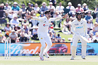 Naseem Shah of Pakistan bowls during day one of the second International Test Cricket match between the New Zealand and Pakistan at Hagley Oval in Christchurch, New Zealand on Sunday, 03 January 2021. Photo: Martin Hunter / lintottphoto.co.nz