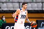 Liga ENDESA 2019/2020. Game: 07.<br /> Club Joventut Badalona vs TD Systems Baskonia: 83-82.<br /> Luca Vildoza.