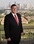 Wortham Insurance chairman Richard Blades outside his office Monday Sept. 21,2015.(Dave Rossman photo)