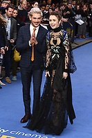 """Zac Efron and Lily Collins<br /> arriving for the """"Extremely Wicked, Shockingly Evil And Vile"""" premiere at the Curzon Mayfair, London<br /> <br /> ©Ash Knotek  D3495  23/04/2019"""