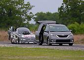 Del Worsham, Franks Car Barn, funny car, Camry, Sienna, support vehicle