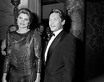 MURIEL HEMINGWAY CON HELMUT BERGER <br /> PREMIO THE BEST  NEW YORK 1983