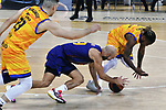 League ACB-ENDESA 2020/2021 - Game: 13.<br /> FC Barcelona Lassa vs Herbalife Gran Canaria: 91-63.<br /> Nick Calathes vs Andrew Albicy.